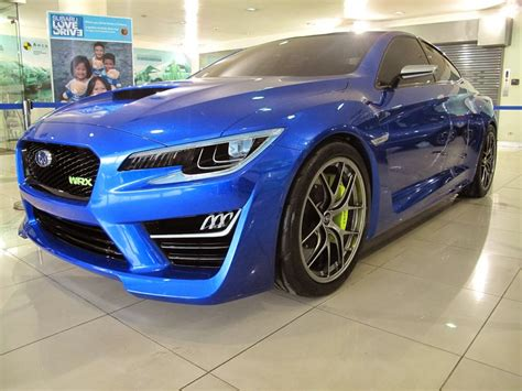 The Subaru Wrx Concept Races To Manila And Motor Images