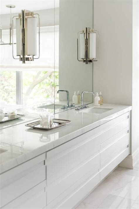 modern double washstand contemporary bathroom croma