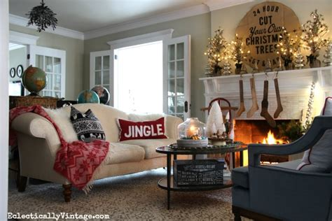 Cozy Christmas Home Decor: Home For Christmas House Tours