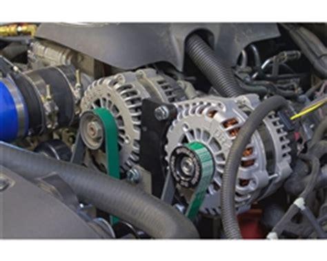 chevy  gm vortec high amp dual alternator bracket kit