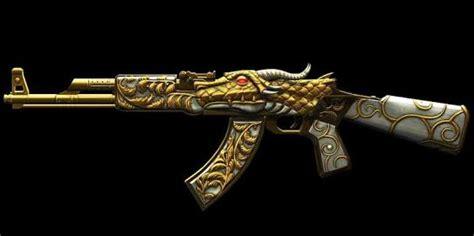 AK-47 Gold Dragon