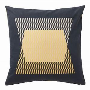 Coussin Jaune Ikea : jaune et noir duo gagnant d co id es ~ Preciouscoupons.com Idées de Décoration