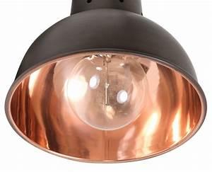 Deckenlampe Schwarz Kupfer : kleine pendellampe 19 cm aus kupfer oder alu 7165 ~ Lateststills.com Haus und Dekorationen