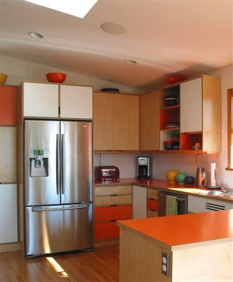 modern kitchen cabinets seattle belltown design turning back the clock tale of a mid 7666