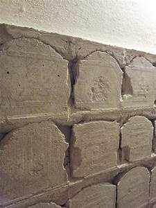 Easy way to remove tile concrete from bathroom wall for Removing tile from walls in bathroom