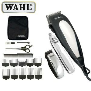 wahl complete mains hair clipper gift set beard trimmer haircutting