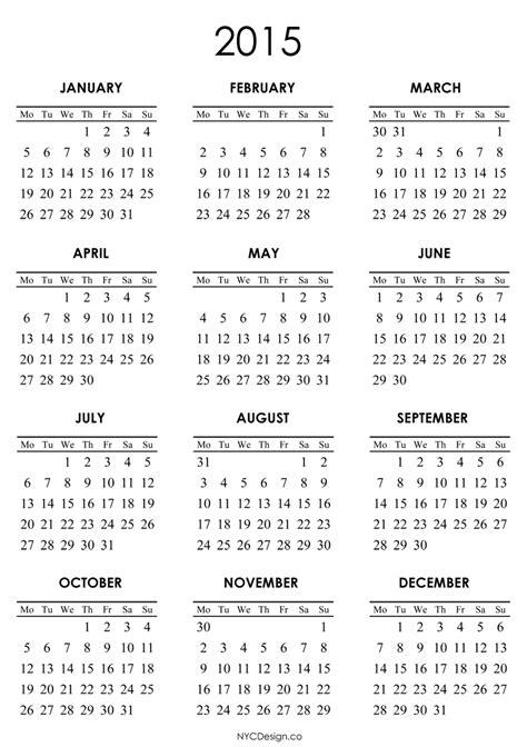yearly calendar template images  calendar