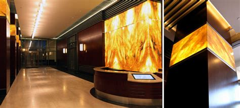 Precious Interior Detailing by Detailing Backlit Onyx Panels Why There Isn T A Quot Typical