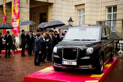 london taxi successor   tx   geely launch