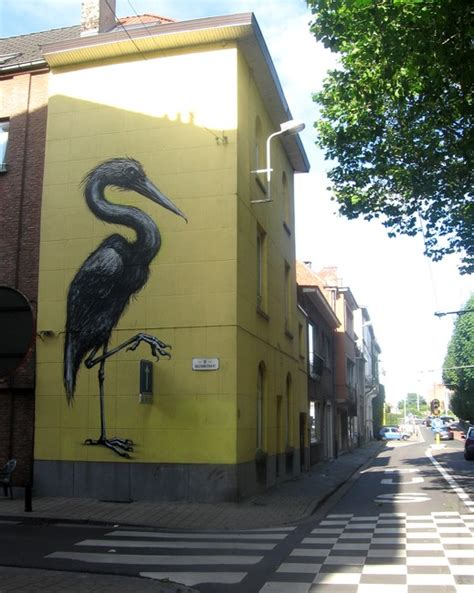 Best Billboards roa gent bird belgium graffiti street art 519 x 650 · jpeg