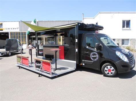 cuisine gaz ou electrique fabricant food truck remorque food