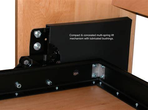 Bedroom: Murphy Bed Mechanism For Hides Away When The Bed