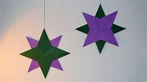 Weihnachtsbaum Basteln Aus Papier : stern aus papier basteln ~ Lizthompson.info Haus und Dekorationen