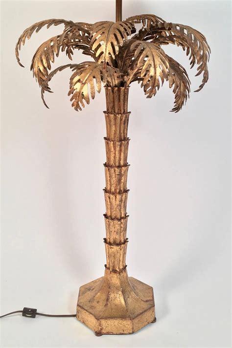 gilt metal palm tree l for sale at 1stdibs