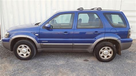 automatic ford escape  cylinder blue  blue
