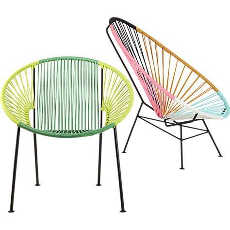 gorgeous acapulco chairs that are summer ready cool