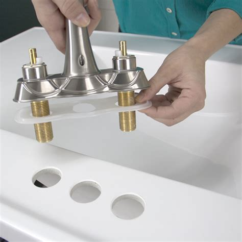 installing a kitchen faucet replace a bathroom faucet