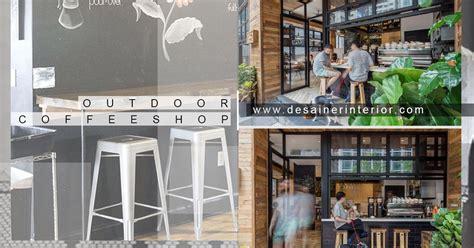 desain cafe mini outdoor pinggir jalan