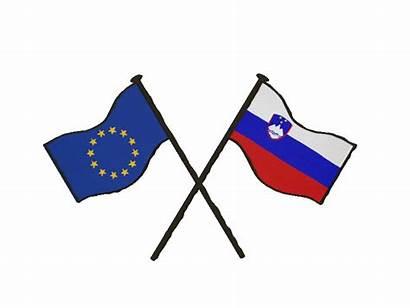 Zastava Slovenska Slovenija Parliament European Sticker Evropa