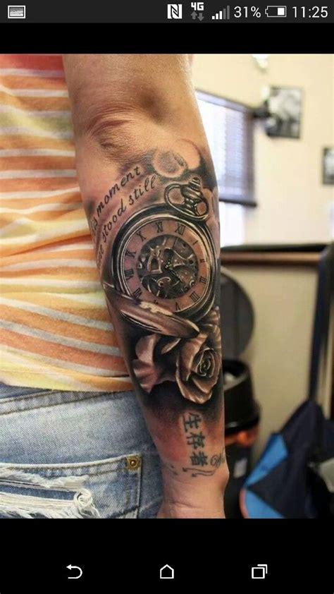 kindernamen mann clock tattoovorlage ideen uhren tattoos und t 228 towierungen