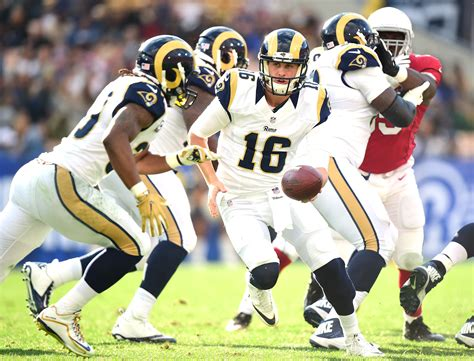 los angeles rams jared goffs case   starting qb