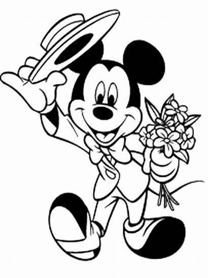 Mickey Mouse Coloring Pages Disney Minnie Sheets