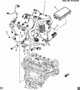Buick Lacrosse Harness  Engine Wiring  Harness  Eng Wrg
