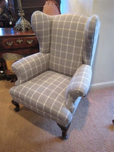 Stylish Armchair by Stylish George Iii Upholstered Wing Armchair 258991