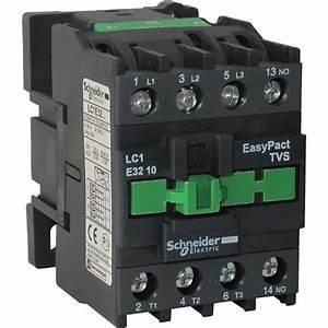 Contactor Schneider Electric Lc1e3810m5 1no 38a 400v Ac3