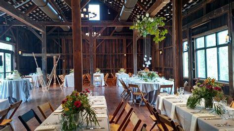 pittsburgh botanic garden  barn barn wedding