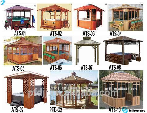 Portable Gazebo Kits by Cool Portable Outdoor Wooden Gazebo Kits Buy Wooden