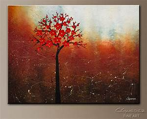 Oversized Abstract Art for Sale Dreamy Nature - Landscape ...
