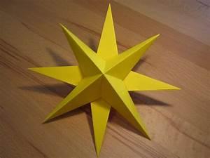 Basteln Mit Papier Anleitung : 3d stern kreative sterne aus papier basteln ~ Frokenaadalensverden.com Haus und Dekorationen