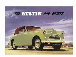 Find Austin A40 Owners  U0026 Parts Manuals 150pg For