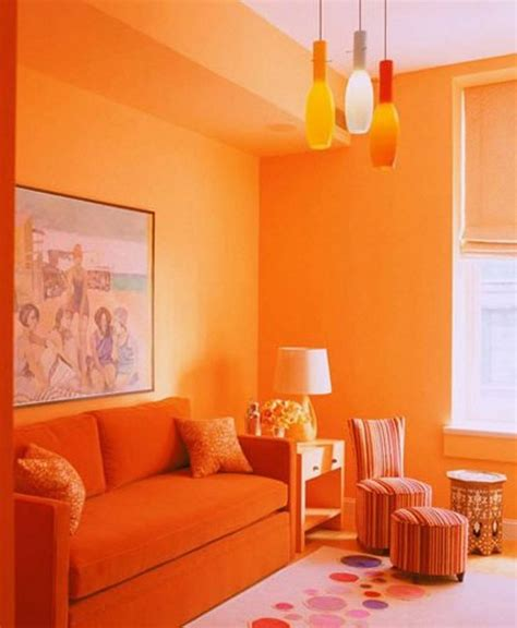 orange living room living room colour ideas and schemes in exquistie 23