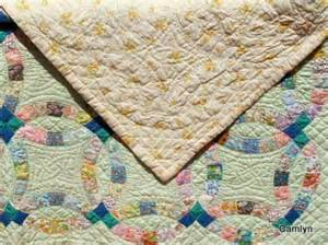 wedding ring quilts for sale picture 2 of quilt for sale or quilt vintage quot green wedding ring quot