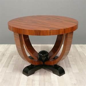 Table Basse Art Deco : table art d co table basse art d co ronde mobilier art d co ~ Teatrodelosmanantiales.com Idées de Décoration