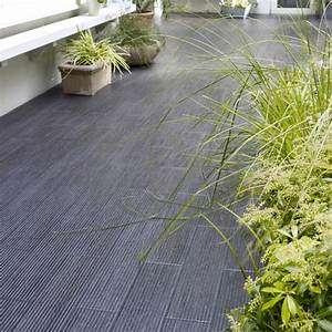 Carrelage De Terrasse Noir Lam Grip Castorama Photo 1415