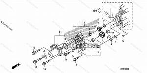 Honda Atv 2009 Oem Parts Diagram For Control Motor