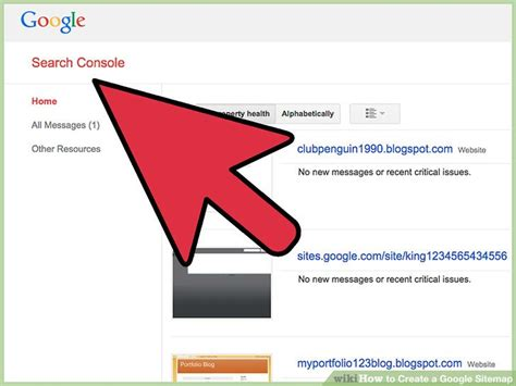 How To Create A Google Sitemap (with Pictures) Wikihow