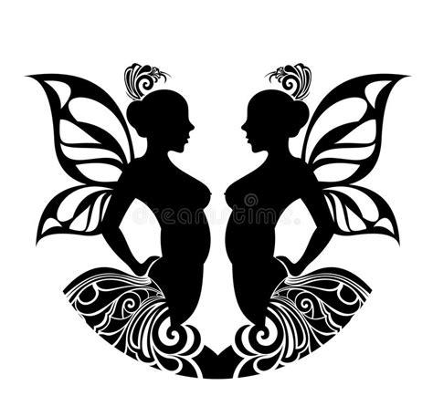 Signes De Zodiaque  Gémeaux Conception De Tatouage