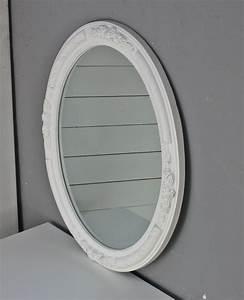 Spiegel Weiß Antik : wandspiegel spiegel oval neu wei holz verzierungen barock ~ Sanjose-hotels-ca.com Haus und Dekorationen