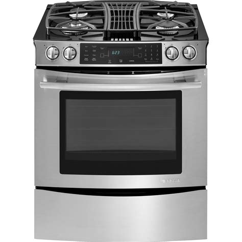 commercial stove with knobs slide in gas downdraft range with convection 30 quot jenn air