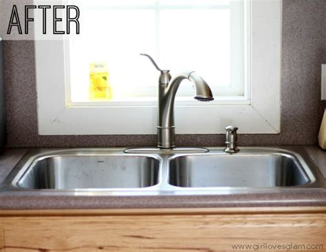 How to Install a Kitchen Sink and Faucet   Girl Loves Glam