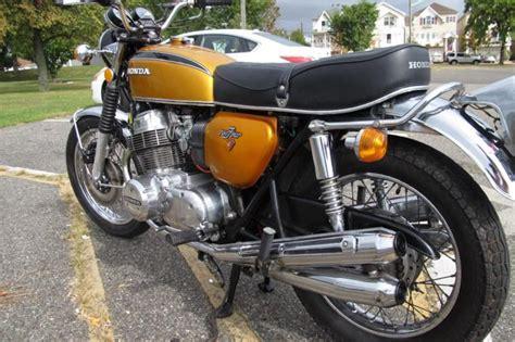 buy honda 1972 cb750k2 gold original color on 2040 motos