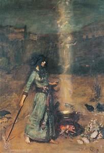 John William Waterhouse: The Magic Circle (study) - 1886 ...
