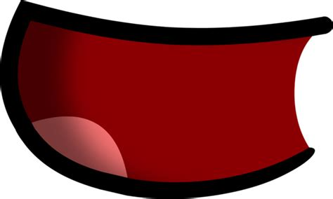 Bfdi mouth sad / mouth l bfdi mouth free transparent png. Image - Open mouth 3 shaded.png - Battle For Dream Island ...