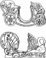 Coloring Pages Carousel Chariot Carosel Quirky Loft Artist Colouring Sheets Horses Horse Dragon Adult Books Template Carriage Chariots Quirkyartistloft Dentzel sketch template