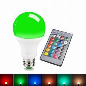 LED RGB Bulb color changing