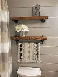 40, Floating, Shelf, Ideas, Built, With, Industrial, Pipe